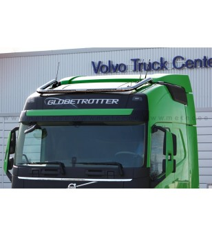 VOLVO FH 13+ LAMP HOLDER ROOF LED holder GLOBE + GLOBE XL cable LED - 888588 - Roofbar / Roofrails - Metec Truck - Verstralersho