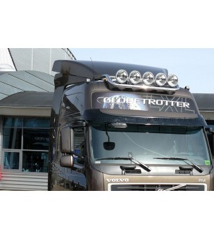 VOLVO FM 14+ LAMP HOLDER ROOF GLOBE + GLOBE XL 5x lamp fixings cable pcs - 868158 - Roofbar / Roofrails - Metec Truck