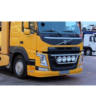 VOLVO FM 14+ LAMP HOLDER FRONT CLASSIC 4x lamp fixings cable LED pcs - 888595FM - Bullbar / Lightbar / Bumperbar - Metec Truck
