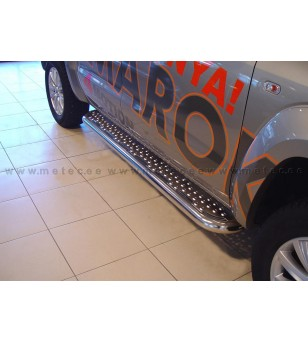 VW AMAROK 11+ RUNNING BOARDS TOUR pair - 840670 - Sidebar / Sidestep - Metec Car/SUV
