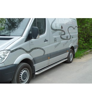 VW CRAFTER 07+ RUNNING BOARDS 3665 pair - 818600 - Sidebar / Sidestep - Metec Van