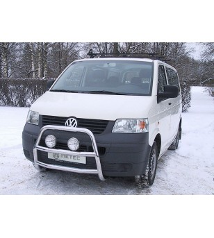 VW T5 03 to 09 FRONTBAR A-BAR - 840280 - Bullbar / Lightbar / Bumperbar - Metec Van - Verstralershop