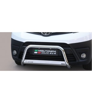 Proace 16- EC Approved Medium Bar Inox - EC/MED/411/IX - Bullbar / Lightbar / Bumperbar - Unspecified