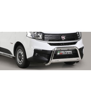 Talento 16- Medium Bar Inox - MED/412/IX - Bullbar / Lightbar / Bumperbar - Unspecified
