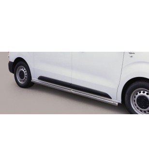 Proace 16- Side Protections Inox MWB version - TPS/411/MWB - Bullbar / Lightbar / Bumperbar - Unspecified