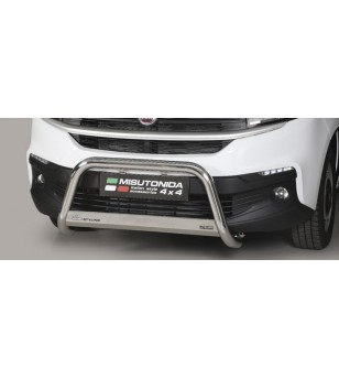 Talento 16- EC Approved Medium Bar Inox - EC/MED/412/IX - Bullbar / Lightbar / Bumperbar - Unspecified