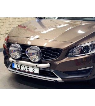 Volvo S60 2011- Q-Light/2 lightbar - Q900332 - Bullbar / Lightbar / Bumperbar - QPAX Q-Light