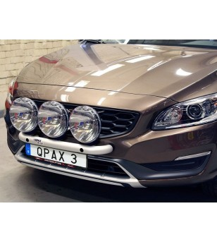 Volvo S60 2011- Q-Light/2 lightbar - Q900331 - Bullbar / Lightbar / Bumperbar - QPAX Q-Light