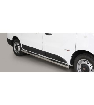 Talento SWB 16- Pedana (Side Bars with steps) Inox - GP/412/SWB - Sidebar / Sidestep - Unspecified - Verstralershop