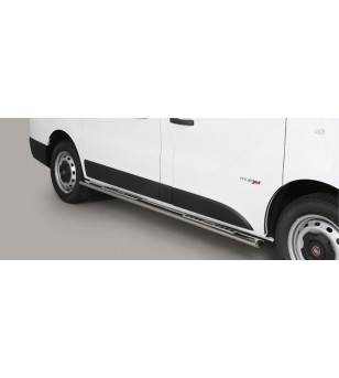 Talento SWB 16- Design Side Protections Inox