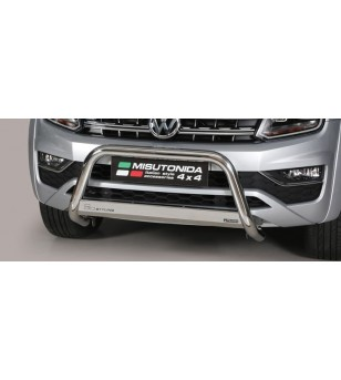 VW Amarok 16+ EC Approved Medium Bar Inox - EC/MED/280/HL - Bullbar / Lightbar / Bumperbar - Unspecified