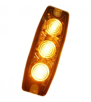 Flashlight Superthin 3x1W LED Amber - 500313 - Lighting - Unspecified