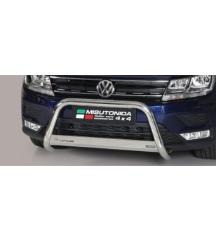 Tiguan 16- EC Approved Medium Bar Inox - EC/MED/409/IX - Bullbar / Lightbar / Bumperbar - Unspecified