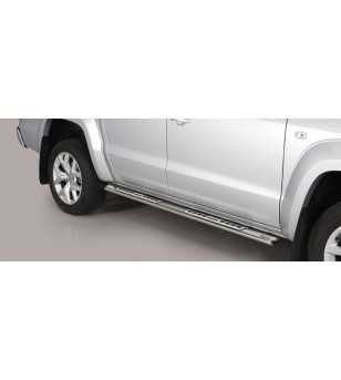 VW Amarok 16+ Design Side Protections Inox - DSP/280/IX - Sidebar / Sidestep - Unspecified