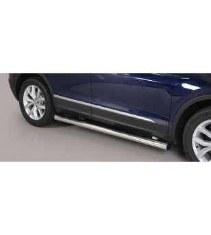 Tiguan 16- Grand Pedana (Side Bars With steps) inox - GP/409/IX - Sidebar / Sidestep - Unspecified
