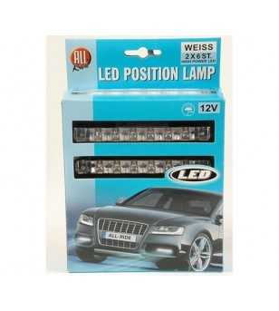 All Ride Position LED set - 6 LED