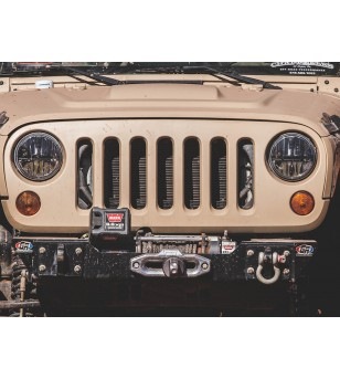 "Rigid 7"" Round Headlight, Non-JK Set"
