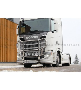 SCANIA R Serie 16+ TRUCK CATTLEGUARD GRIFFIN with net