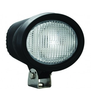 4 inch X 6 inch OVAL BLACK 35 WATT HID FLOOD LAMP 9-32V DC EA - HID-4601 - Lighting - Vision X HID