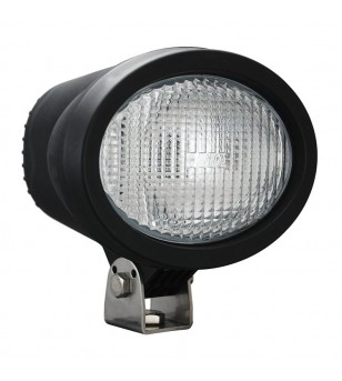 Vision-X 4 inch X 6 inch OVAL BLACK 35 WATT HID FLOOD LAMP 9-32V DC EA