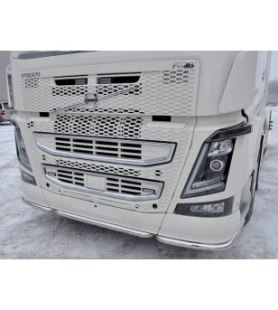 Volvo FH 2013- Front Pipe 3 parts - 1132 - Bullbar / Lightbar / Bumperbar - Unspecified - Verstralershop