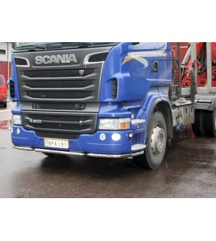 Scania R - serie Bumper Bar 3 parts high bumper - 100195 - Bullbar / Lightbar / Bumperbar - Unspecified
