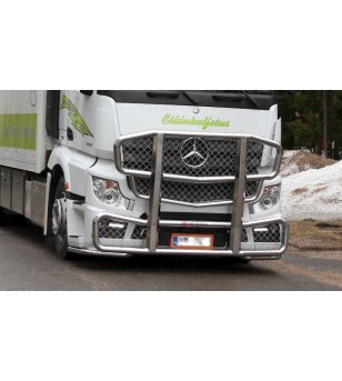 MB ACTROS 2011 - Frontbar Freeway 2300mm - 1043 - Bullbar / Lightbar / Bumperbar - Verstralershop