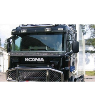 Scania P - serie Stoneguard - 100196 - Stainless / Chrome accessories - Verstralershop