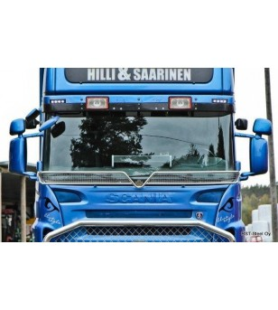 Scania P - serie Stoneguard V2.0 - 1012 - Stainless / Chrome accessories - Verstralershop