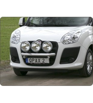 Fiat Doblo 2011- Q-Light/3 lightbar - Q900212-3 - Bullbar / Lightbar / Bumperbar - QPAX Q-Light - Verstralershop