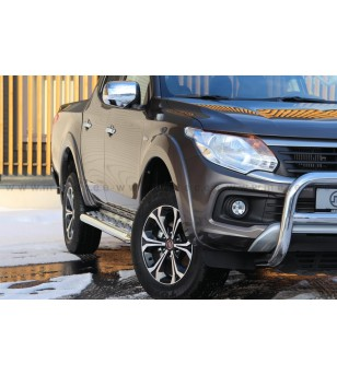 FIAT FULLBACK 16- RUNNING BOARDS TOUR DoubleCab - 821050 - Sidebar / Sidestep - Metec Car/SUV