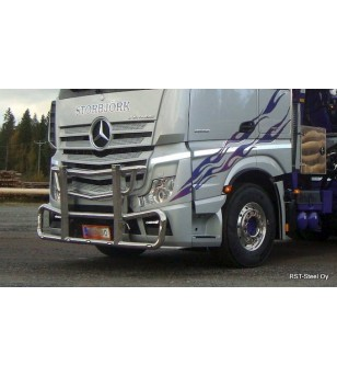 MB ACTROS 2011 Frontbar Style - 1458 - Bullbar / Lightbar / Bumperbar - RST-Steel - Frontbar Style