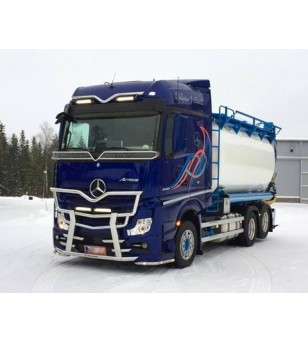 MB ACTROS 2011 Frontbar Freeway V2 2500mm - 1459 - Bullbar / Lightbar / Bumperbar - Verstralershop
