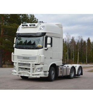 DAF XF 106 Frontbar Freeway V2.0 - 1009152 - Bullbar / Lightbar / Bumperbar - RST-STeel - frontbar Freeway