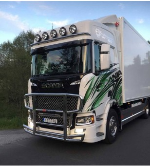 SCANIA R/S Serie 16+ - serie Frontbar Freeway 1 - 1008517 - Bullbar / Lightbar / Bumperbar - RST-STeel - frontbar Freeway - Vers