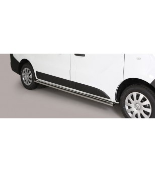 NV300 2017 Oval Side Protection Inox - TPSO/425/SWB - Sidebar / Sidestep - Unspecified