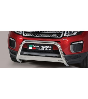 Evoque 2016 EC Approved Medium Bar Inox - EC/MED/422/IX - Bullbar / Lightbar / Bumperbar - Unspecified