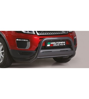 Evoque 2016 EC Approved Medium Bar Black Coated - EC/MED/422/PL - Bullbar / Lightbar / Bumperbar - Unspecified