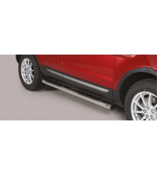 Evoque 2016 Grand Pedana (Side bars with steps) Inox (also available in black) - GP/306/IX - Sidebar / Sidestep - Unspecified