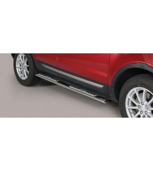 Evoque 2016 Design Side Protection Inox - DSP/306/IX - Sidebar / Sidestep - Unspecified