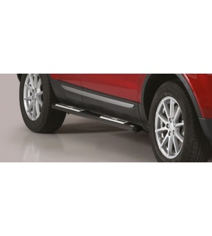 Evoque 2016 Design Side Protections Black Powder Coated - DSP/306/PL - Sidebar / Sidestep - Unspecified - Verstralershop
