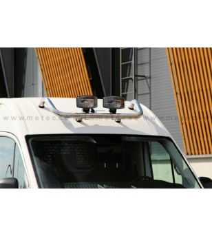 VW CRAFTER 17+ LAMP HOLDER, WORKING LIGHTS for roof H2 & H3 - 888494 - Roofbar / Roofrails - Metec Van