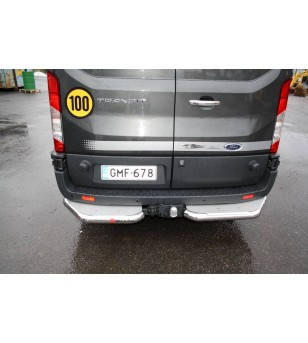 Ford Transit 2014- Corner Bars/ Rearsteps - 101060 - Rearbar / Opstap - Unspecified