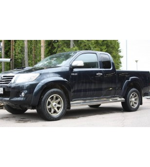 Toyota Hilux 2011- Side Bars - 1494 - Sidebar / Sidestep - Unspecified