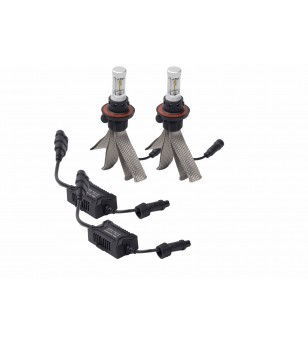Putco Silver-Lux LED kit 12V (set van 2 lamps) incl Anti Flickr - 280007 - Lighting - Putco Nite-Lux LED