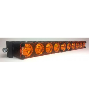 "AMBER SHIELD FOR KC FLEX™ LED 30"" LIGHT BAR"
