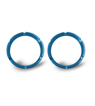 BLUE BEZEL RINGS FOR KC FLEX™ LED LIGHTS (PAIR)