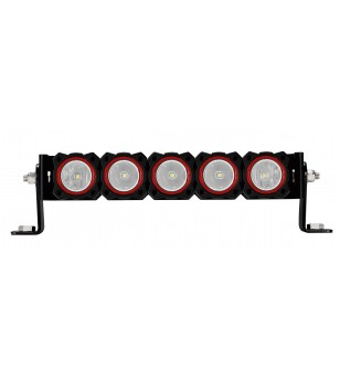 RED BEZEL RINGS FOR KC FLEX™ LED LIGHTS (5 PACK)