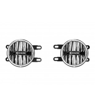 KC GRAVITY 4'' LED Clear G4 Toyota FOG LIGHT PAIR PACK