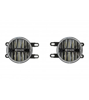 KC GRAVITY 4'' LED Amber G4 Toyota FOG LIGHT PAIR PACK